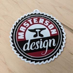 Masterson Design Sticker