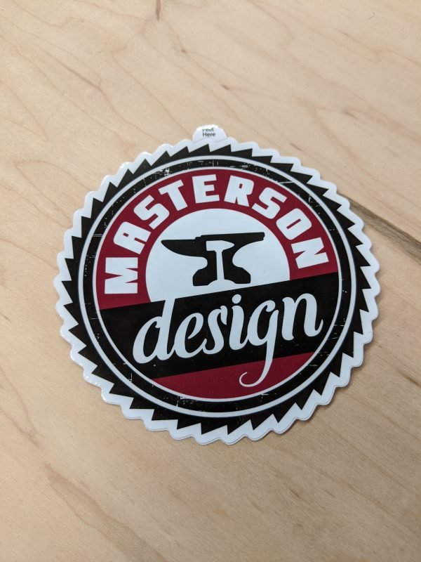 Masterson Design Sticker